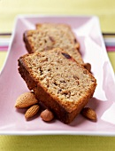Almond,hazelnut and date cake