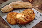 Antipasti Italian bread