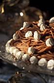 La Torche (chestnut rice with meringue, Alsace)