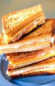 Irish taosted sandwich (croque-monsieur)