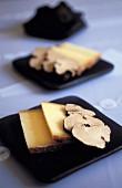 Comté cheese and truffles