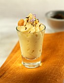 Chickpea mousse with cumin oil