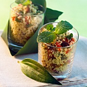 tabouleh oriental-style with mint