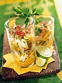 Brasilianischer Salat