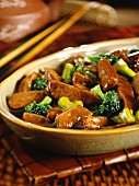 Pork with broccoli