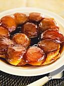 Tarte tatin (French apple cake)