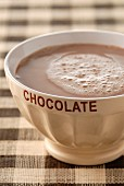 Bowl of hot chocolate
