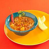 Harira (Moroccan fasting soup)