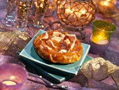 Mango tatin with foie gras