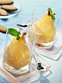 Pears in ginger syrup