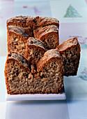 Low fat hazelnut cake