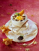 Coddled egg with caviar