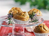 Small feta and olive oil savoury cakes