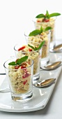 Tabbouleh with fresh mint