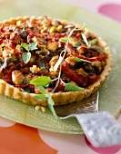Grilled vegetable greedy tart