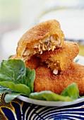 Crisp fish fritters