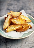 Chips cooked in duck fat