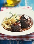 Provençal-style beef sauté