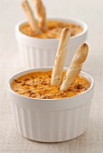 Carrot and cumin mousse