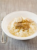 Risotto mit Austernseitling