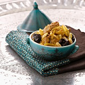 Veal,prune and sesame seed Tajine