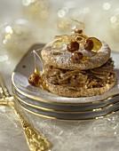 Hazelnut cream macaroon