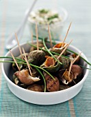 Whelks with spices