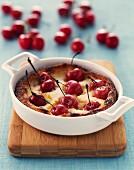 Cherry gratin