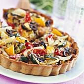 Southern vegetable tart