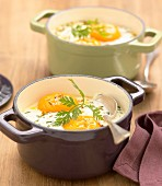 Coddled eggs