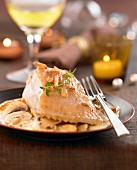 Turbot with Riesling sauce