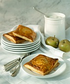 Hot apple turnover