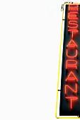 """""""Restaurant"""" neon sign"""