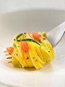 Fettuccini mit Lachs