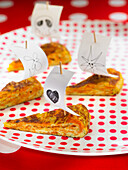 Fried pumpkin omelet
