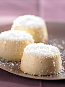 Small coconut flans