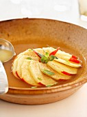 Apple and mint broth
