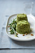 Green bean and parmesan mousse
