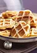 Apple waffles