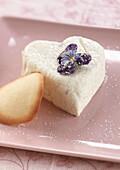 Süße Frischkäse-Herzen