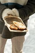 Smoked ham toasted sandwich