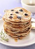 Bilberry pancakes