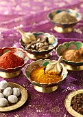 Various spices from Pakistan