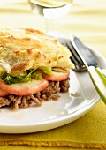 Parmentier (French beef and potato bake)