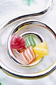 Berlingots,boiled candies