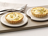 Passion fruit tartlets