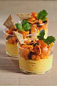 Süß-Saurer Kürbissalat mit Couscous
