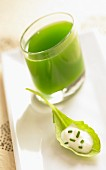 Fresh herb juice