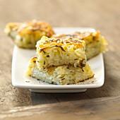 Potato and celeriac Paillasson