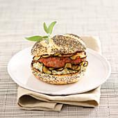 Provençal -style hamburger